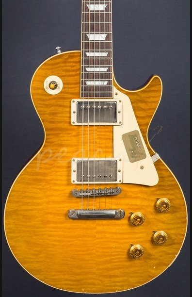 Gibson Custom True Historic 1959 Les Paul Reissue Aged - Vintage Lemon Burst