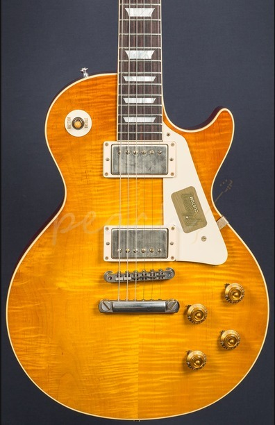 Gibson Custom M2M 58 Les Paul Golden Poppy Burst VOS