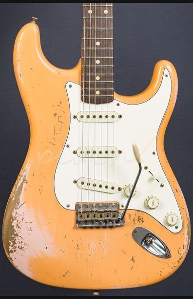 Fender Custom Shop 59 Strat Heavy Relic Dale Wilson Masterbuilt