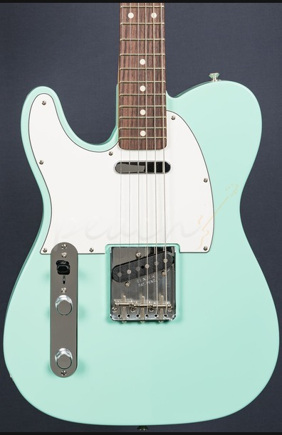 Fender Custom Shop 59 Tele NOS Surf Green - Left Handed