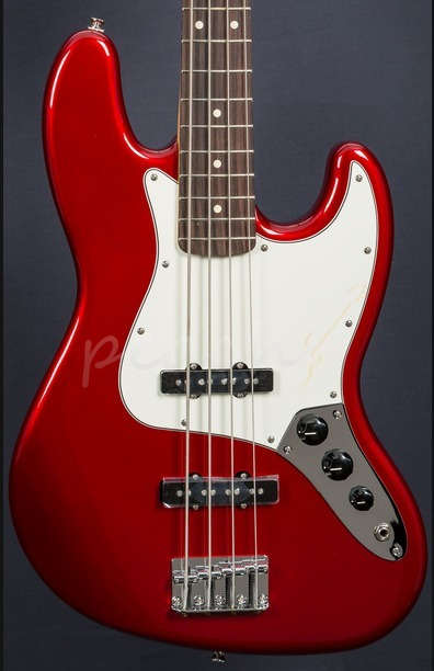 Fender Mexican Standard Jazz Bass Candy Apple Red