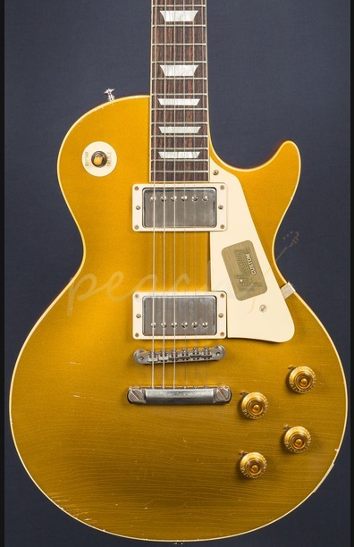 Gibson Custom True Historic '57 Les Paul Goldtop Aged