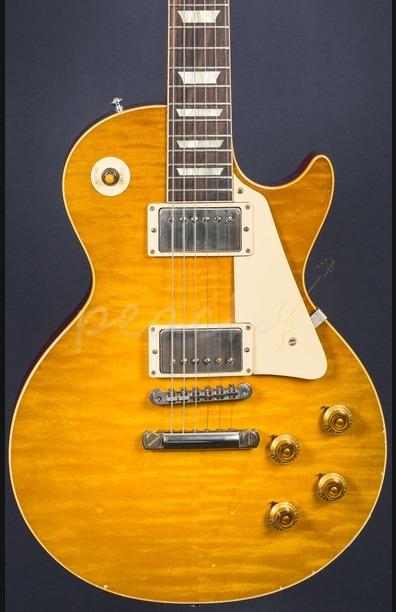 Gibson Custom True Historic 1960 Les Paul Reissue Aged Lembon Burst