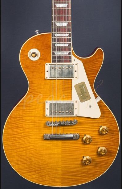 Gibson Custom M2M Standard Historic 59 Les Paul VOS Dirty Lemon