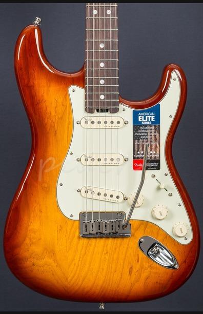 Fender American Elite Strat Tobacco Sunburst Rosewood