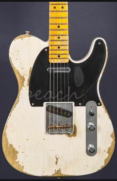 Fender Custom Shop 51 Nocaster Heavy Relic White Blonde