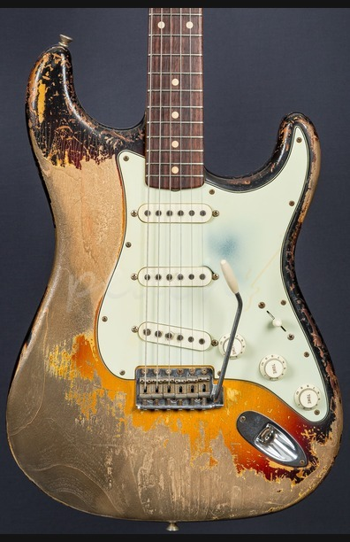 Fender Custom Shop 61 Strat Ultra Relic Dale Wilson Masterbuilt