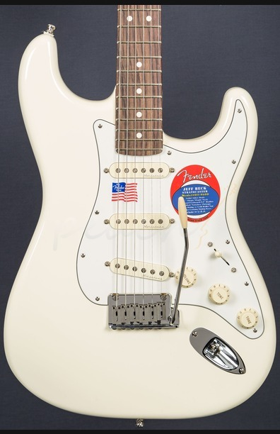 Fender Jeff Beck Stratocaster Olympic White