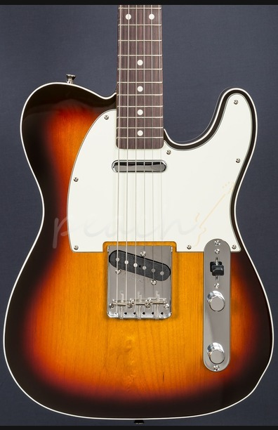 Fender Japan 62 Tele Custom 3 Tone Sunburst