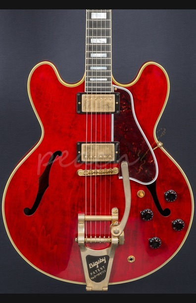 Gibson ES-355 Sixties Cherry Bigsby VOS 2016