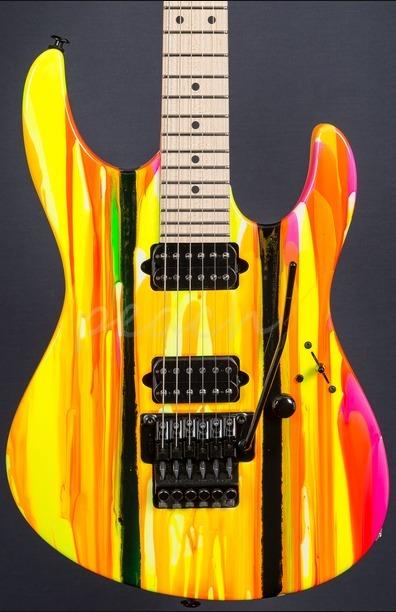 Suhr 80's Shred Modern Neon Drip