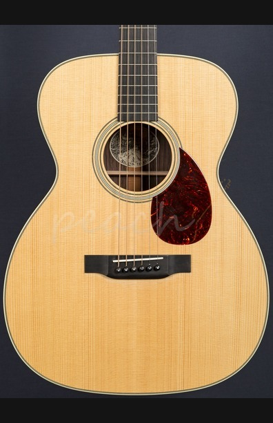 Collings OM2G German Spruce with Indian Rosewood Used