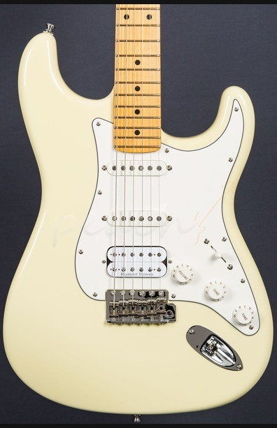 Fender Custom Shop 59 Strat HSS Vintage White MN Used