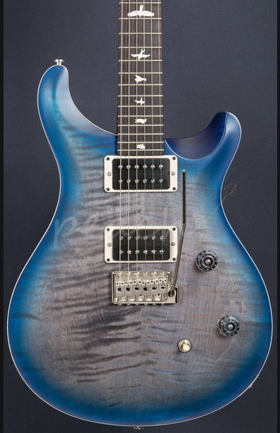 PRS CE24 Satin Limited Edition Faded Grey Blueburst