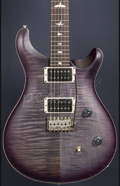 PRS CE24 Satin Limited Edition Faded Grey Purpleburst