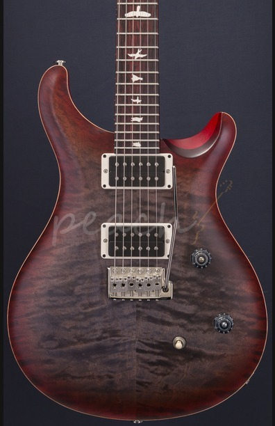 PRS CE24 Satin Limited Edition Faded Grey Cherry Burst