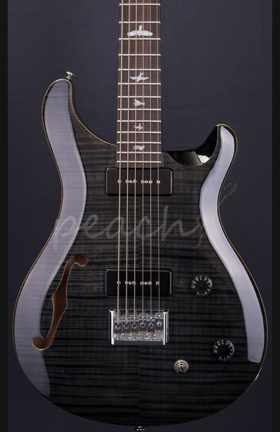 PRS SE 2017 277 Semi Hollow Baritone Soapbar - Grey Black