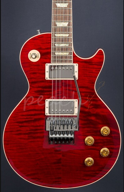 Gibson Alex Lifeson Les Paul Axcess Electric Guitar Royal Crimson