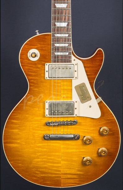 Gibson Custom Standard Historic 1958 Les Paul Plain Top VOS Iced Tea