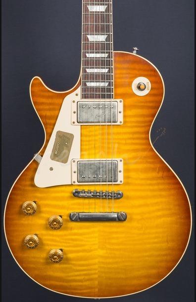 Gibson Custom Standard Historic 58 Les Paul Left Handed VOS Iced Tea