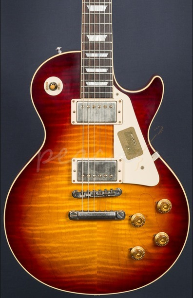 Gibson Custom Standard Historic 1958 Les Paul Plain Top Bourbon Burst