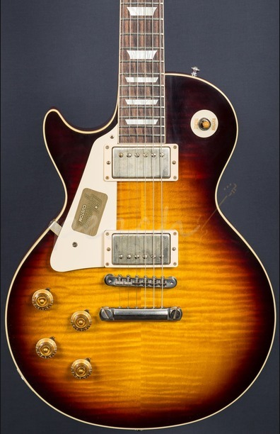 Gibson Custom Standard Historic 1959 Les Paul Left Handed VOS Faded Tobacco