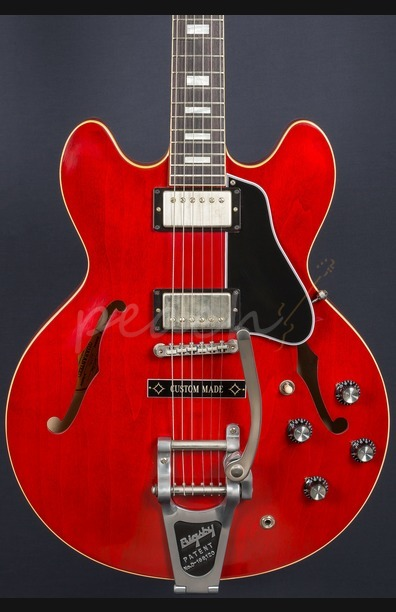 Gibson Memphis '63 ES-335TDC VOS Bigsby w/ Custom Made Plate