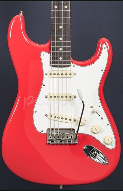 Fender Custom Shop 59 Anniversary NOS Strat Fiesta Red