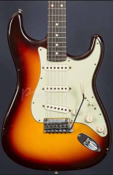 Fender Custom Shop 59 Journeyman Anniversary Strat Choc 3TS
