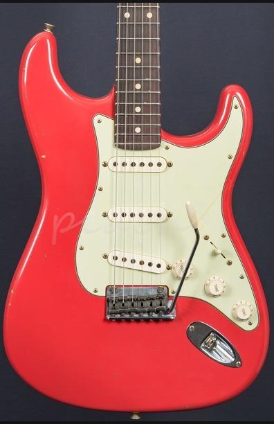 Fender Custom Shop 59 Journeyman Anniversary Strat Fiesta Red