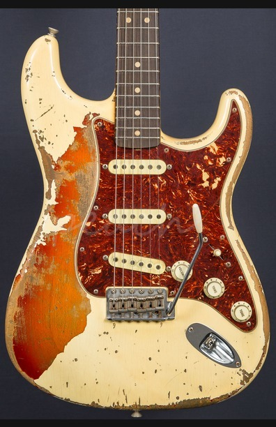 Fender Custom Shop Jason Smith Masterbuilt 64 Strat Relic