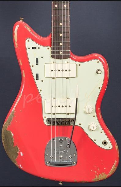 Fender Custom Shop 59 Jazzmaster Heavy Relic Fiesta Red