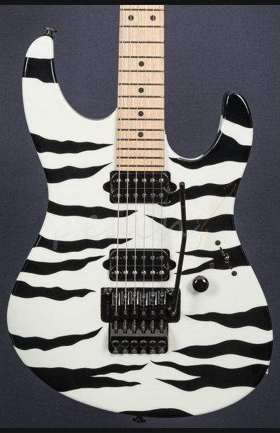 Suhr 80's Shred MKII Tiger Stripe with Maple Fingerboard