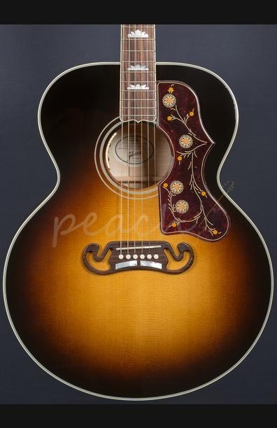 Gibson J200 Standard Vintage Sunburst SJ-200 2016 spec