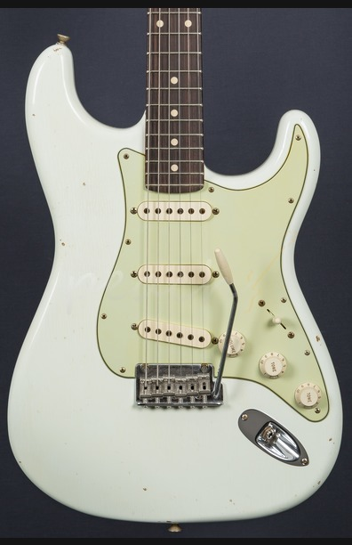 Fender Custom Shop 59 Journeyman Anniversary Strat Olympic White