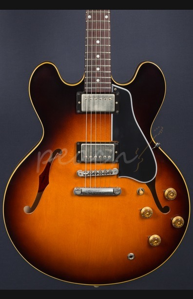 Gibson 1958 ES-335 VOS in 58 Burst 2016