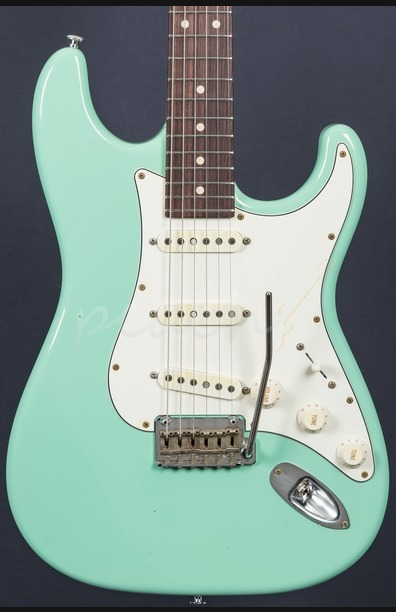 Suhr Classic Antique Surf Green Rosewood SSS