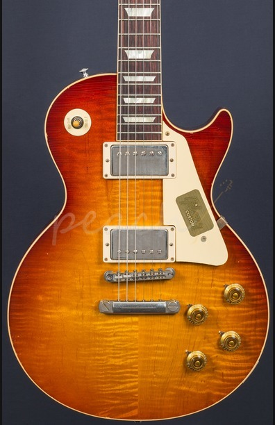 Gibson Custom Historic Select 1958 Les Paul Aged Slow Iced Tea Fade