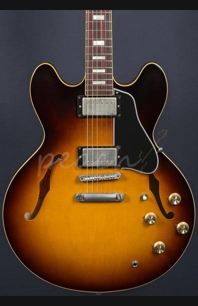 Gibson Custom 1963 ES-335 Block Historic Burst VOS 2016