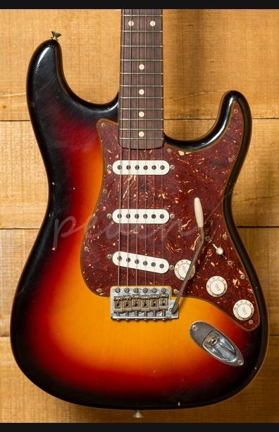 Fender Custom Shop 62 Strat Journeyman Relic Limited Wide 3 Tone Sunburst