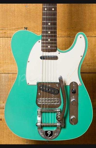 Fender Custom Shop 2012 NAMM Tele Custom Closet Classic Seafoam Green