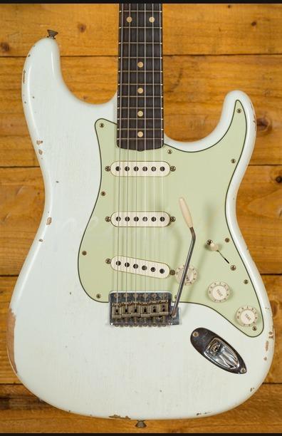 Fender Custom Shop 1960 Strat Relic Olympic White