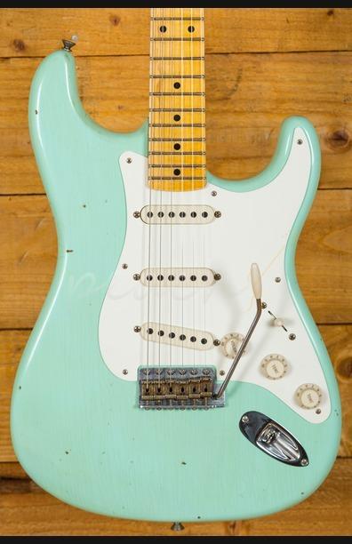 Fender Custom Shop 57 Strat Journeyman Relic Surf Green