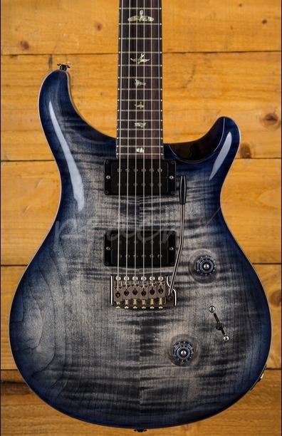 PRS Custom 24 Wood Library Charcoal Purpleburst
