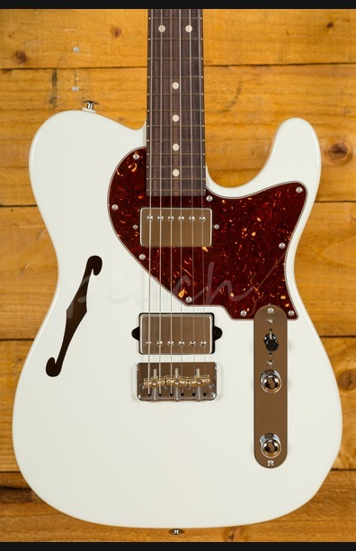 Suhr Alt T Pro Olympic White Rosewood