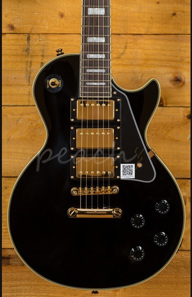Epiphone LesPaul Black Beauty Ebony/gold - Peach Guitars