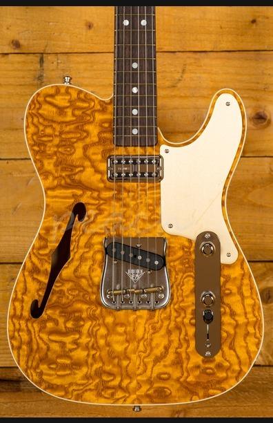 Fender Custom Shop Artisan Tele - Caballo Tono Ligero - Roasted Ash With Tamo Ash Top