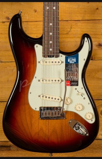 Fender American Elite Strat RW - 3 Tone Sunburst