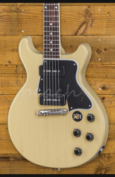 Gibson Custom Les Paul Special Double Cut TV Yellow NH