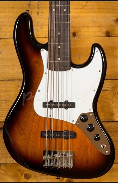 Squier Affinity Jazz Bass V Sunburst 5 String